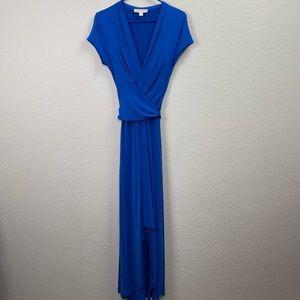 Michael Kors Blue Maxi Gown